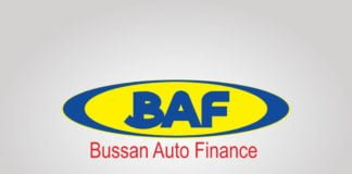 Free Download Bussan Auto Finance (BAF) Logo Vector