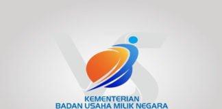 Free Download Kementerian BUMN Logo Vector