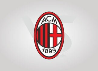 Free Download AC Milan Logo Vector