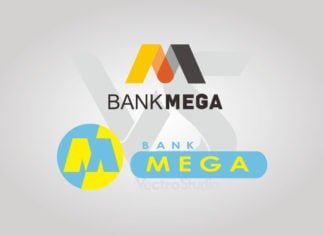 Free Download Bank Mega Logo Vector
