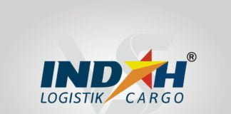 Free Download Indah Logistik Cargo Logo Vector