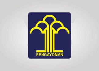 Free Download Kementerian Hukum Dan Ham (Kemenkumham) Logo Vector