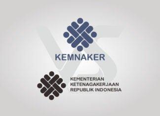 Free Download Kementerian Ketenagakerjaan (Kemnaker) Logo Vector