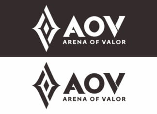 Free Download New AOV Logo Arena Of Valor Vector