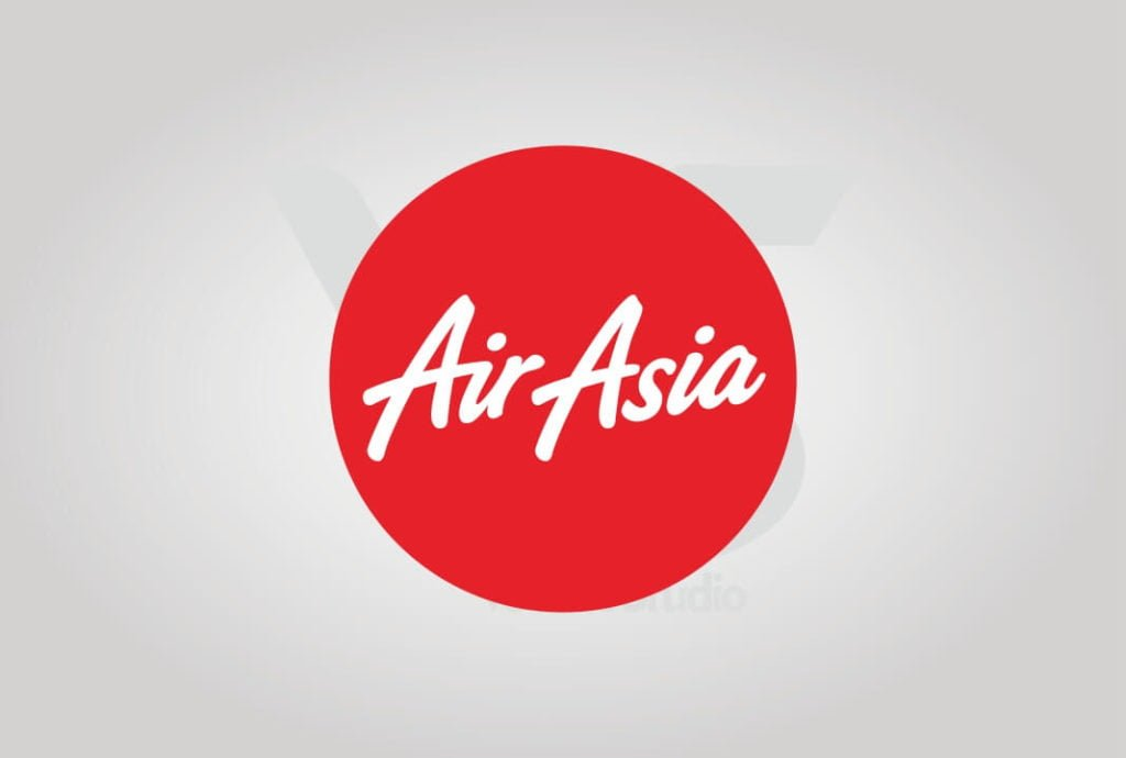 Download Air Asia Logo Vector Circle