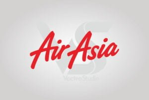 Download Air Asia Logo Vector Teks