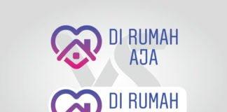 Download Di Rumah Aja Logo Vector Instagram