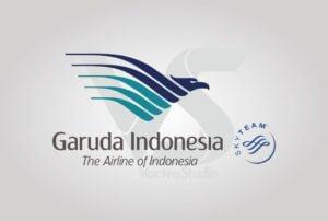Download Garuda Indonesia Airlines Logo Vector vertical