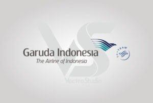 Download Garuda Indonesia Airline Logo Vector landscape