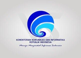 Free Download Kemkominfo Kementerian KomInfo Logo Vector