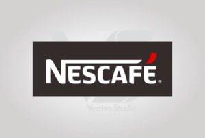 Download Nescafe Logo Vector Black