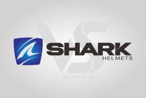 Download Shark Helmet Logo Vector Horizontal