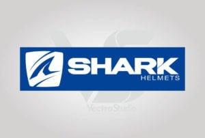 Download Shark Helmet Logo Vector White