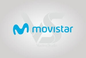 Download Telefonica Movistar Logo Vector Horizontal