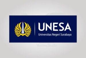Download UNESA Universitas Negeri Surabaya Logo Vector Horizontal