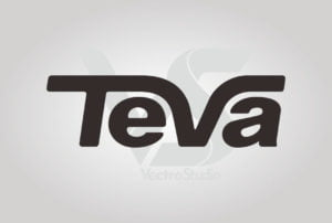Download TEVA Footwear Logo Vector Black