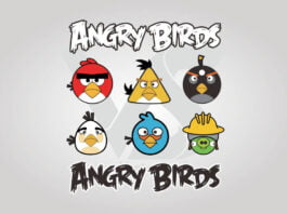 Free Download Angry Birds Logo Vector