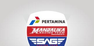 Download Pertamina Mandalika SAG Team Logo Vector